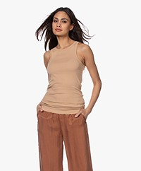 By Malene Birger Amiee Tanktop - Tan