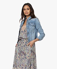 Zadig & Voltaire Kioky Denim Jacket - Blaue