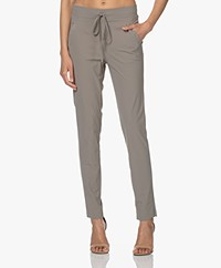 LaSalle Italian Tech Jersey Pants - Moss