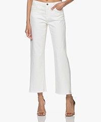 by-bar Mojo Rechte Cropped Jeans - Off-white