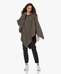 Rag & Bone Addison Regenponcho - Olive Night