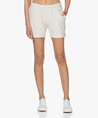 Rag & Bone City Bio Terry Sweatshort - Ivoor