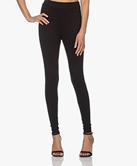 Majestic Filatures Soft Touch Jersey Legging - Black
