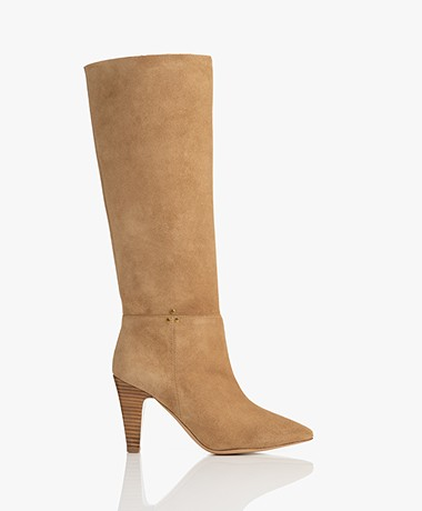Jerome Dreyfuss Sandie Suede Boots - Camel