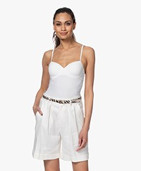 HANRO Allure Bra Camisole - Off-white