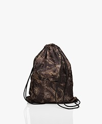 Filippa K Soft Sport Tie Dye Gymbag - Brown/Grey/Off-black