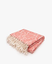 Bon Bini Hammam Towel Lima 180cm x 90cm - Coral