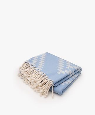 Bon Bini Hamam Towel Benge 180cm x 90cm - Navy