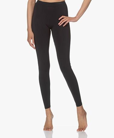 Woman by Earn Whitney Tech Jersey Leggings - Black