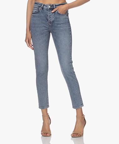 IRO Galloway High-rise Skinny Jeans - Stone Blue