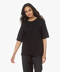 Filippa K Clara Round Neck T-shirt - Black