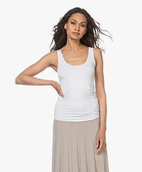 Majestic Filatures Abby Superwashed Tanktop - Wit