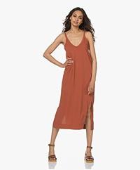 bassike Organic Cotton Jersey Slip Dress - Arkose