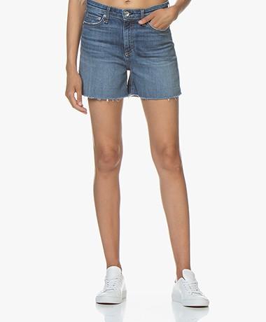 Rag & Bone Nina High-rise Denim Shorts - Balboa