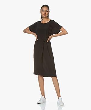 BY-BAR Jet Viscose Crepe Dress - Black