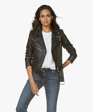 Current/Elliott The Shaina Biker Jack - Zwart