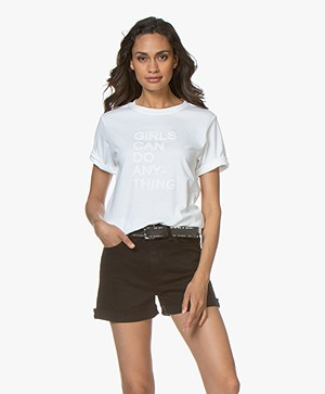 Zadig & Voltaire Bella Girls T-shirt - White
