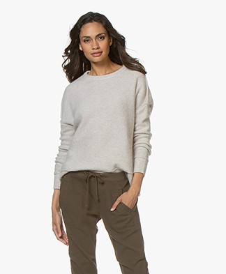 By Malene Birger Biagio Alpaca Blend Sweater - Beige Melange