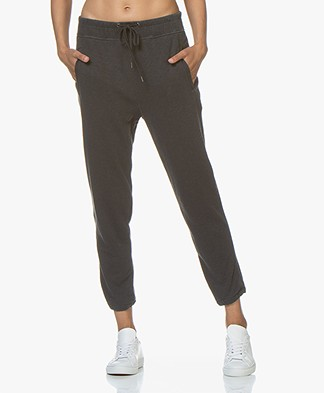 James Perse Fleece Pull On Sweatpants - Carbon