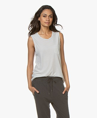 James Perse Muscle Tank - Silver