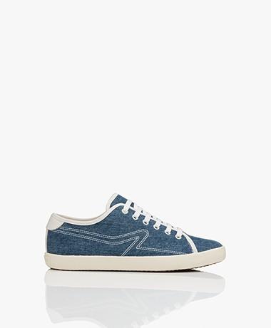 Rag & Bone Court Canvas Sneakers - Denim Blue