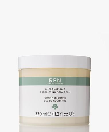 REN Clean Skincare Guerande Salt Exfoliating Body Balm