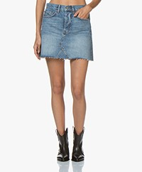 Denham Pearl Denim Skirt - Washed Indigo