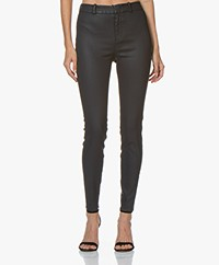 Drykorn Winch Skinny Coated Pants - Dark Blue