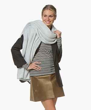 American Vintage Vapcloud Sjaal - Pearl Grijs Mêlee