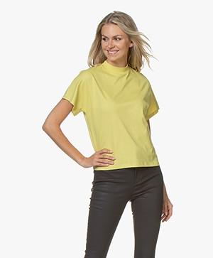 Filippa K Alix T-shirt - Dijon Geel