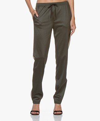 Filippa K Soft Sport Striped Track Sweatpants - Spruce