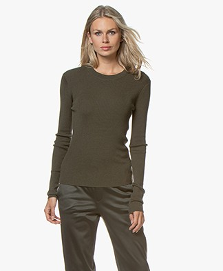 Filippa K Billy Sweater - Forest