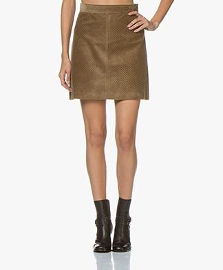 Vanessa Bruno Juna Corduroy Mini Skirt - Taupe