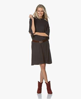 American Vintage Jamostate T-shirt Dress - Vintage Carbon