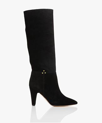 Jerome Dreyfuss Sandie Suede Boots - Black