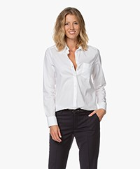 Filippa K Classic Stretch Blouse - Wit