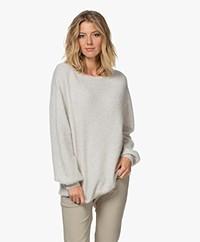 American Vintage Nuasky Alpaca Blend Sweater -  Polar Melange