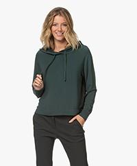 Majestic Filatures Viscose Hooded Sweater - Scarabé