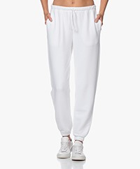 American Vintage Fobye French Terry Sweatpants - Wit