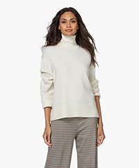 Drykorn Perima Fine Knitted Turtleneck Sweater - Papyrus