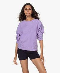 American Vintage Lapow Polar Fleece Sweatshirt - Mauve