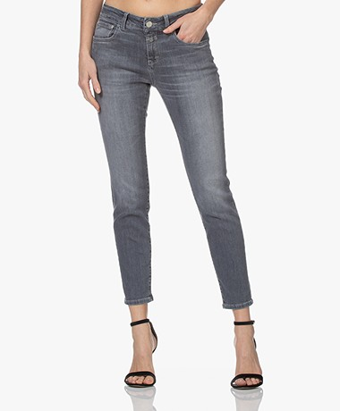 Closed Baker Mid-rise Slim-fit Jeans - Middengrijs
