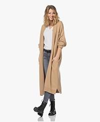 extreme cashmere N°61 Koto Midi Cashmeremix Vest - Camel