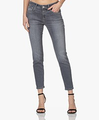 Closed Baker Mid-rise Slim-fit Jeans - Middengrijs