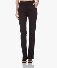 by-bar Lowie Interlock Jersey Pants - Black