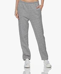 American Vintage Najabay French Terry Sweatpants - Grijs Mêlee