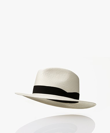 Rag & Bone Panama Hat - Ecru