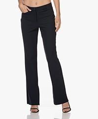 JapanTKY Baya Travel Jersey Pantalon met Splitten - Zwartblauw
