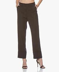 Closed Stew Straight-leg Pants - Black