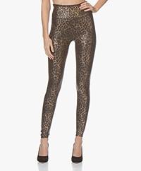 SPANX® Don't-Faux-Get Faux Leather Leggings - Leopard